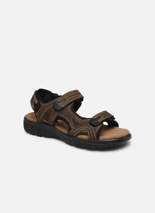 Sandales et nu-pieds I Love Shoes THUMO LEATHER Marron vue détail/paire