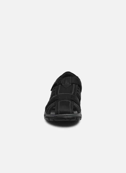 Sandales et nu-pieds I Love Shoes THIVO LEATHER Noir vue portées chaussures