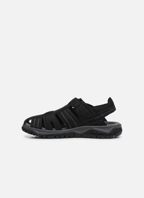 Sandales et nu-pieds I Love Shoes THIVO LEATHER Noir vue face