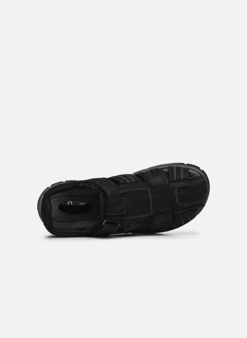 Sandales et nu-pieds I Love Shoes THIVO LEATHER Noir vue gauche