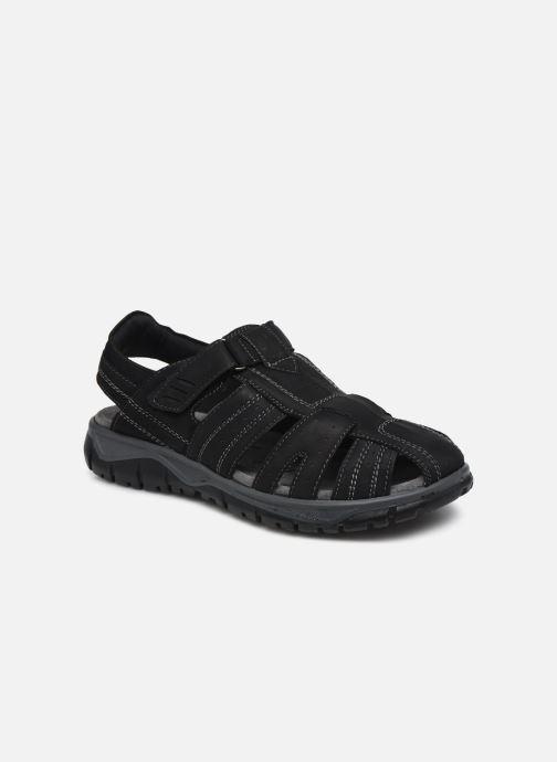 Sandales et nu-pieds I Love Shoes THIVO LEATHER Noir vue détail/paire