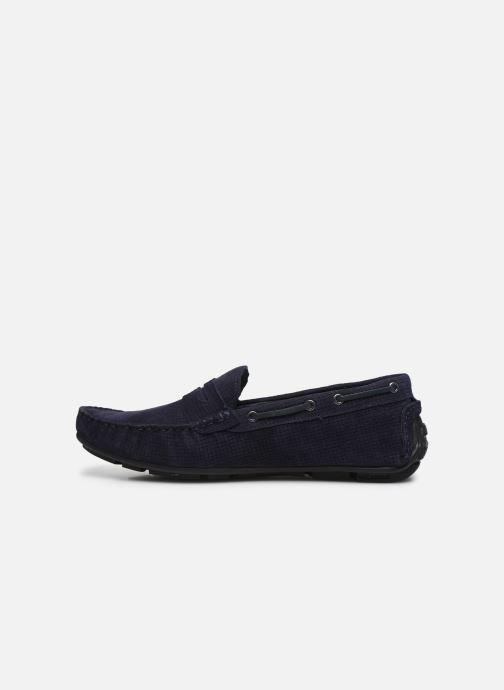 Mocasines I Love Shoes THEMOK LEATHER Azul vista de frente