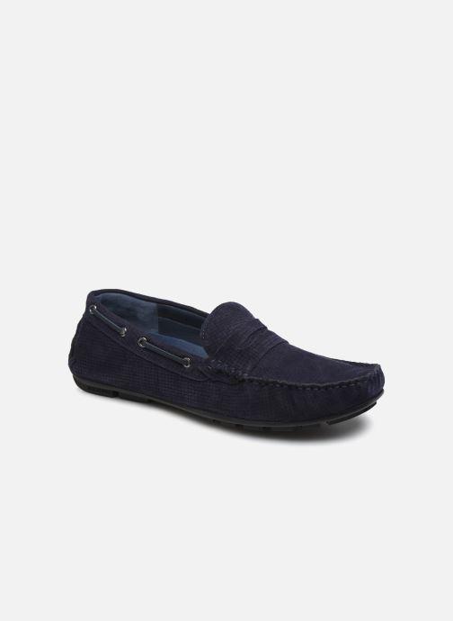 Mocasines I Love Shoes THEMOK LEATHER Azul vista de detalle / par