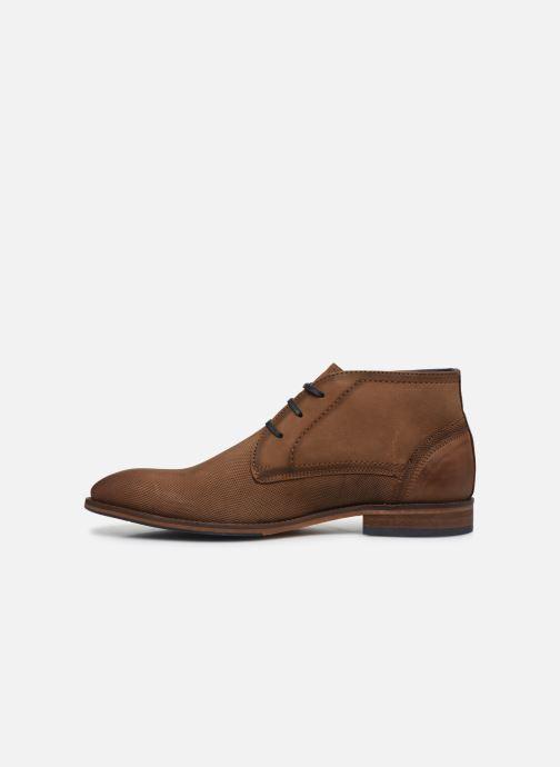 Botines  I Love Shoes THEVEN LEATHER Marrón vista de frente