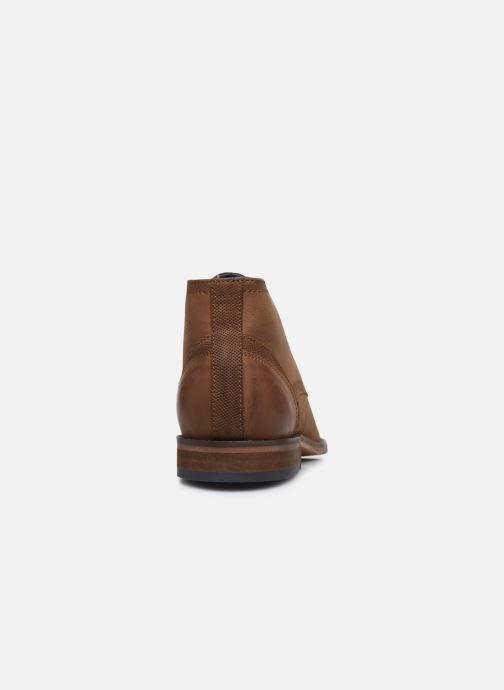 Stivaletti e tronchetti I Love Shoes THEVEN LEATHER Marrone immagine destra
