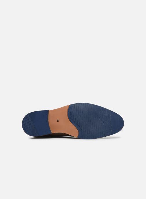 Stivaletti e tronchetti I Love Shoes THEVEN LEATHER Marrone immagine dall'alto
