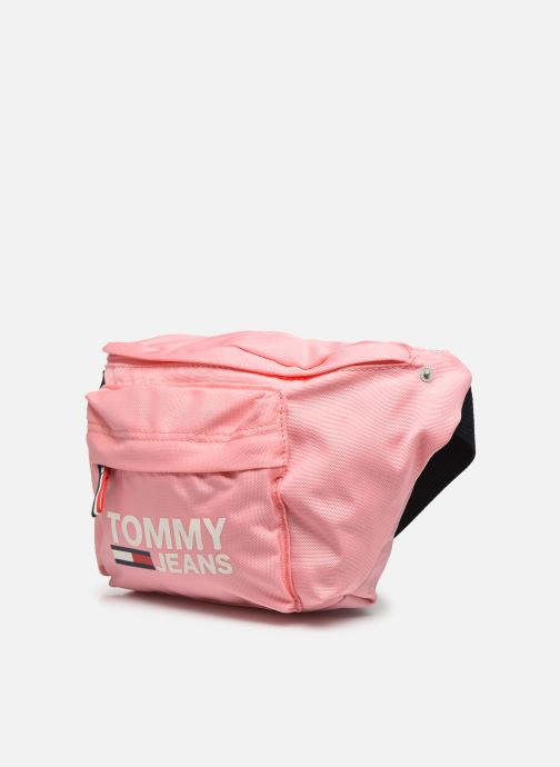 Petite Maroquinerie Tommy Hilfiger TJW COOL CITY BUMBAG Rose vue portées chaussures
