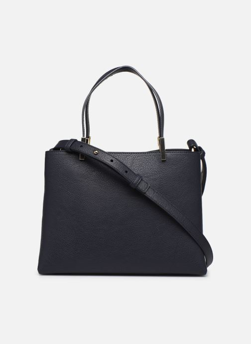 Handtaschen Tommy Hilfiger TH CORE MED SATCHEL blau ansicht von vorne