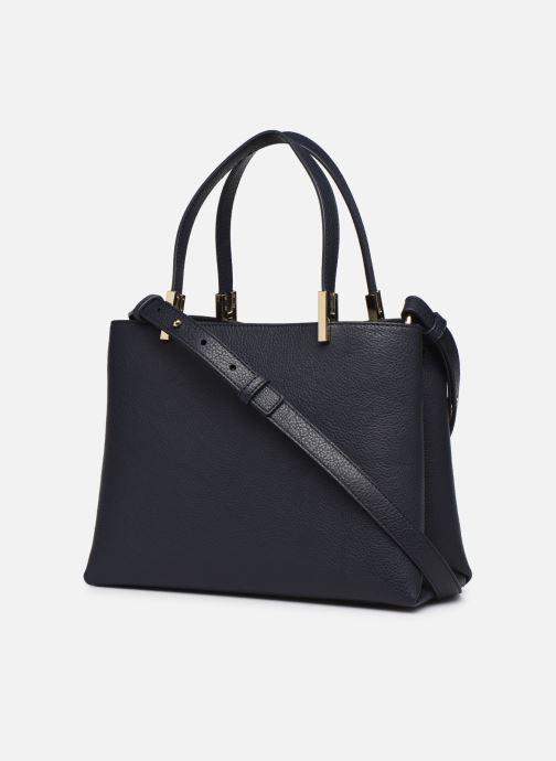 Handtaschen Tommy Hilfiger TH CORE MED SATCHEL blau ansicht von rechts