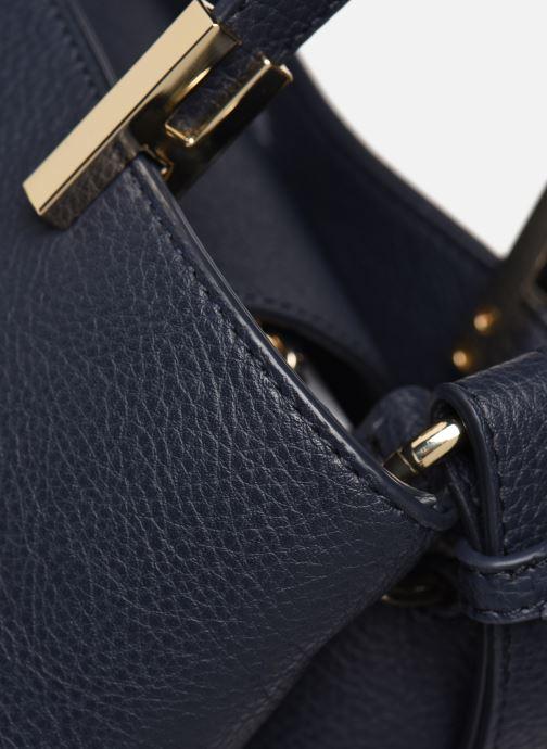 Handtaschen Tommy Hilfiger TH CORE MED SATCHEL blau ansicht von links