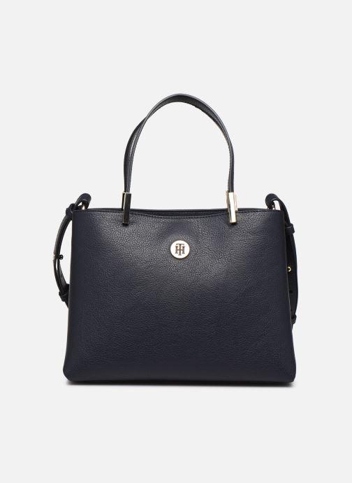 Handtaschen Tommy Hilfiger TH CORE MED SATCHEL blau detaillierte ansicht/modell