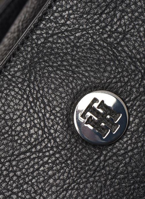 Bolsos de mano Tommy Hilfiger TH CORE MED SATCHEL Negro vista lateral izquierda