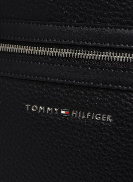 Sacs à dos Tommy Hilfiger TH DOWNTOWN BACKPACK Noir vue gauche