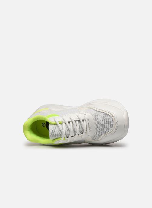 Deportivas I Love Shoes Thendance Blanco vista lateral izquierda