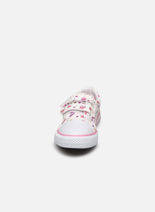 Baskets I Love Shoes Thania Blanc vue portées chaussures