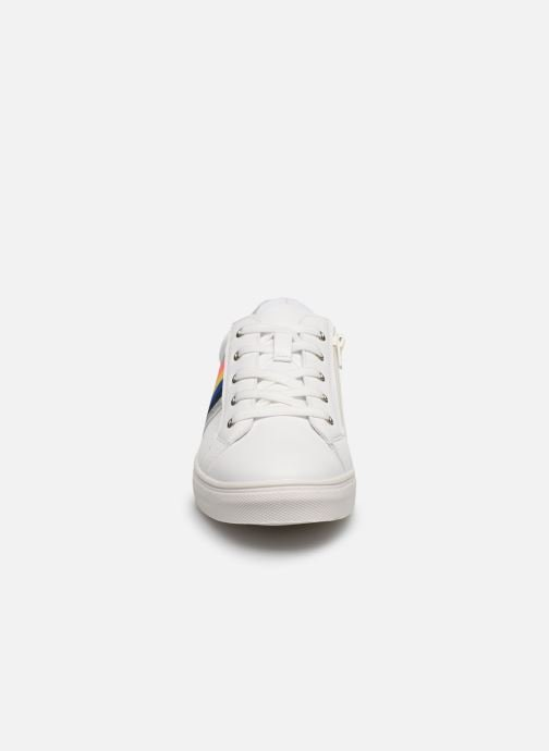 Baskets I Love Shoes Thraye Blanc vue portées chaussures