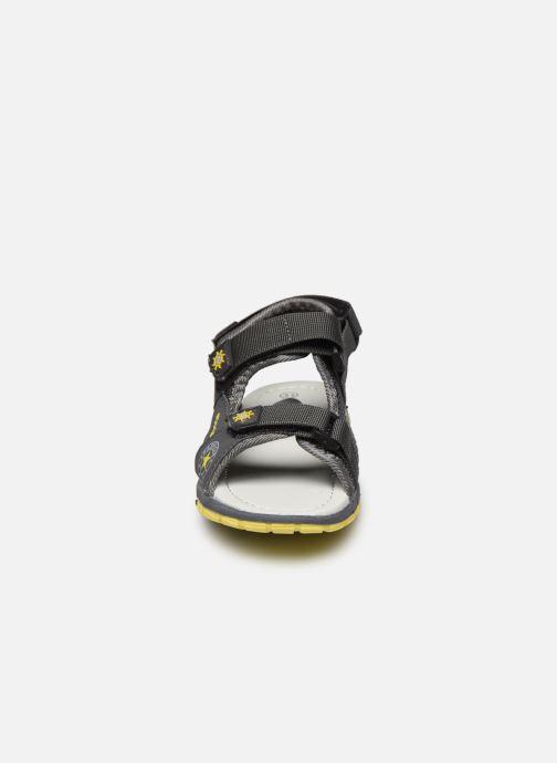 Sandalias I Love Shoes THIVER Gris vista del modelo