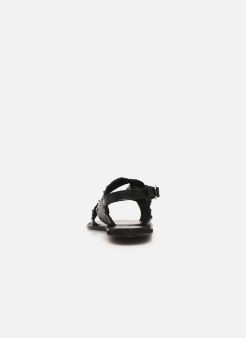 Sandalias I Love Shoes KEPIK Leather Negro vista lateral derecha