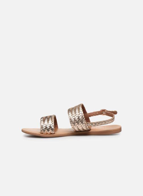 Sandales et nu-pieds I Love Shoes KETRO Leather Rose vue face