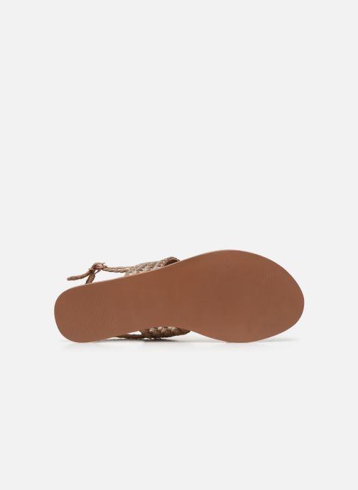 Sandali e scarpe aperte I Love Shoes KETRO Leather Rosa immagine dall'alto