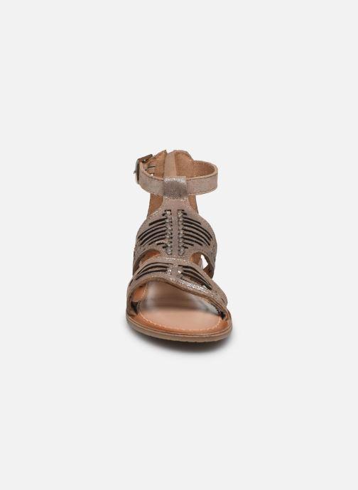 Sandales et nu-pieds I Love Shoes KEPLEIN Leather Beige vue portées chaussures