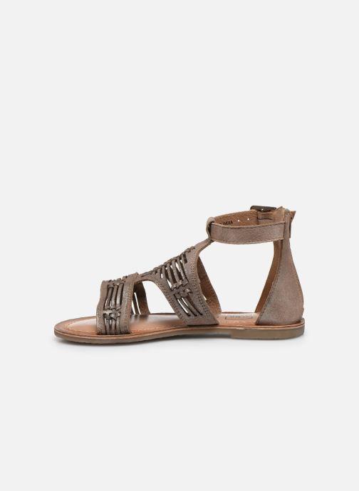 Sandales et nu-pieds I Love Shoes KEPLEIN Leather Beige vue face