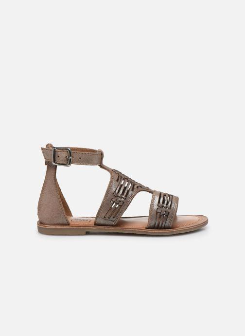 Sandales et nu-pieds I Love Shoes KEPLEIN Leather Beige vue derrière