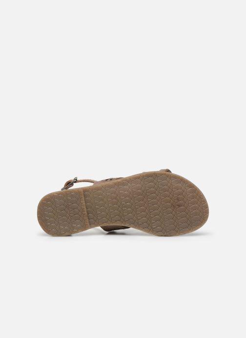 Sandales et nu-pieds I Love Shoes KEPLEIN Leather Beige vue haut