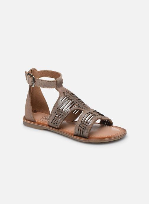 Sandales et nu-pieds I Love Shoes KEPLEIN Leather Beige vue détail/paire