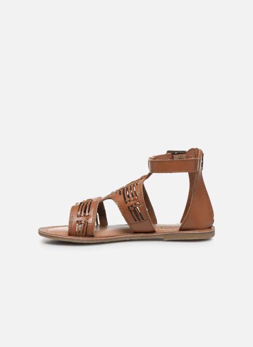 Sandali e scarpe aperte I Love Shoes KEPLEIN Leather Marrone immagine frontale