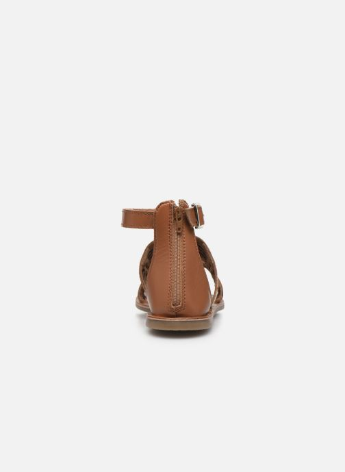 Sandali e scarpe aperte I Love Shoes KEPLEIN Leather Marrone immagine destra