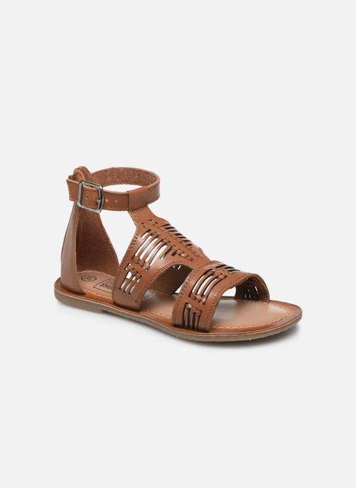 Sandalias I Love Shoes KEPLEIN Leather Marrón vista de detalle / par
