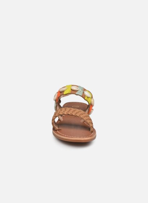 Sandalias I Love Shoes KESHELL Leather Marrón vista del modelo