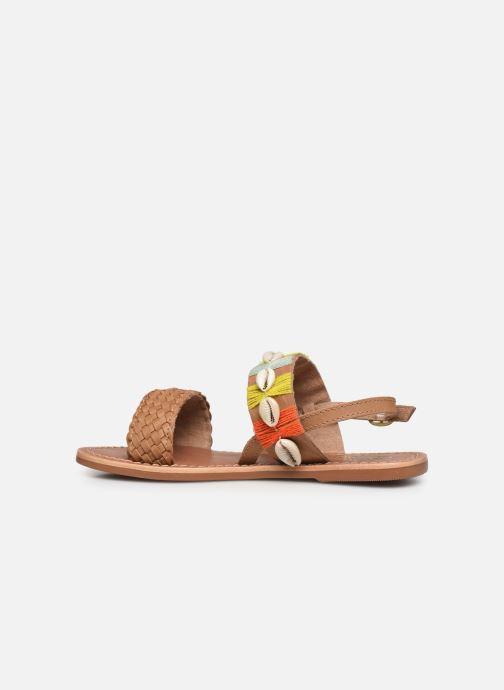 Sandales et nu-pieds I Love Shoes KESHELL Leather Marron vue face