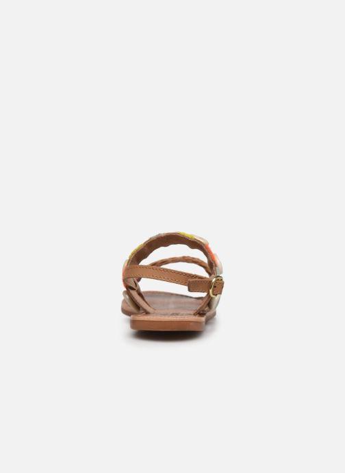Sandalias I Love Shoes KESHELL Leather Marrón vista lateral derecha