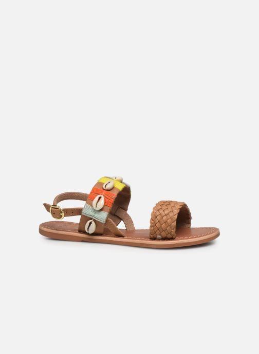 Sandales et nu-pieds I Love Shoes KESHELL Leather Marron vue derrière