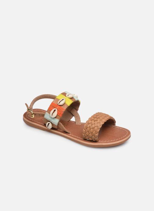 Sandales et nu-pieds I Love Shoes KESHELL Leather Marron vue détail/paire