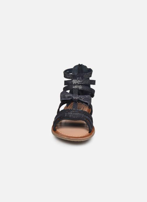 Sandalias I Love Shoes KENOEUD Leather Azul vista del modelo