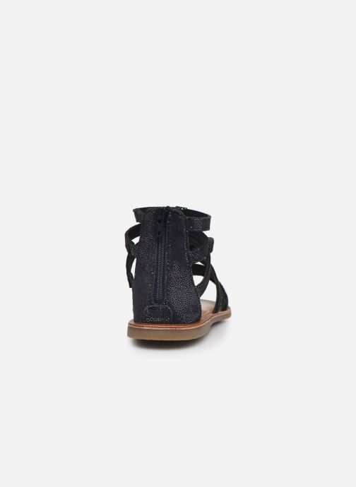Sandales et nu-pieds I Love Shoes KENOEUD Leather Bleu vue droite