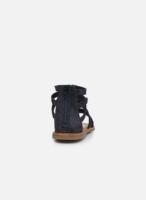 Sandalias I Love Shoes KENOEUD Leather Azul vista lateral derecha