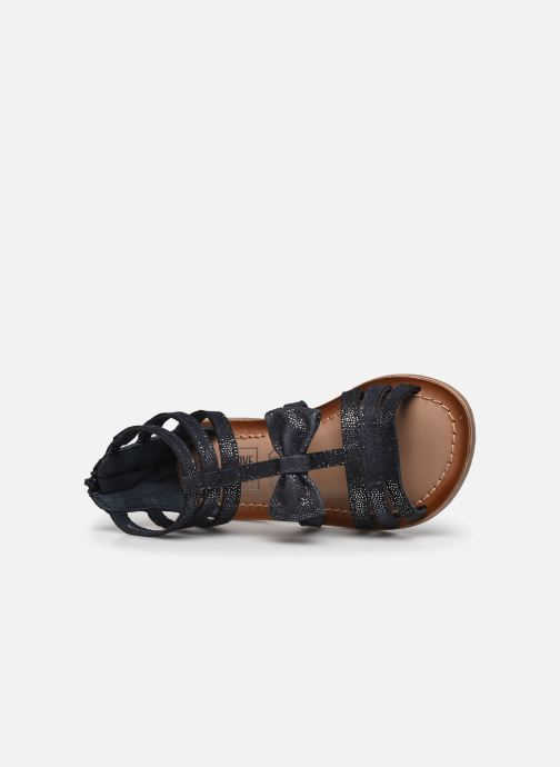 Sandalias I Love Shoes KENOEUD Leather Azul vista lateral izquierda