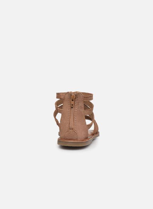 Sandali e scarpe aperte I Love Shoes KENOEUD Leather Beige immagine destra