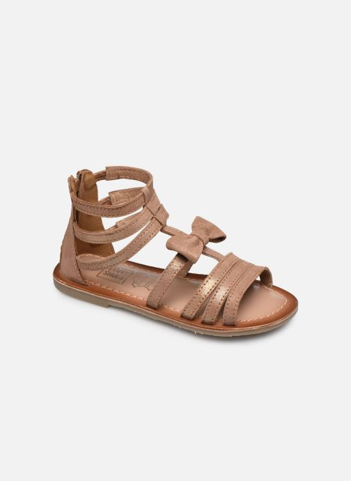Sandales et nu-pieds I Love Shoes KENOEUD Leather Beige vue détail/paire
