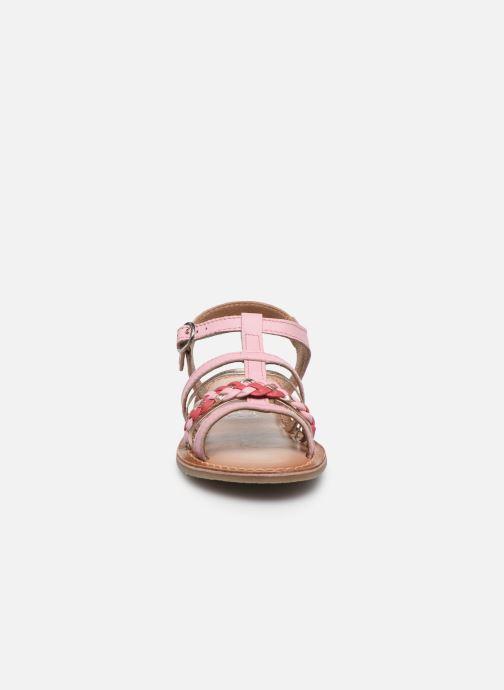 Sandali e scarpe aperte I Love Shoes KETCHI Leather Rosa modello indossato