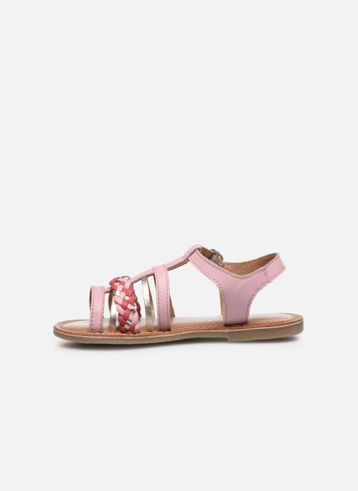 Sandales et nu-pieds I Love Shoes KETCHI Leather Rose vue face