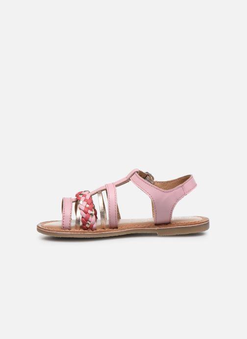 Sandali e scarpe aperte I Love Shoes KETCHI Leather Rosa immagine frontale