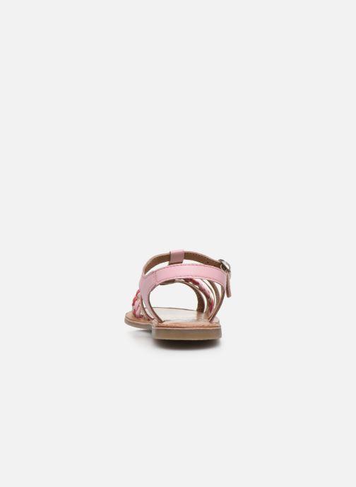 Sandalias I Love Shoes KETCHI Leather Rosa vista lateral derecha