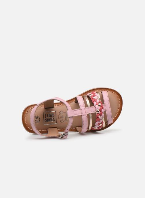 Sandalias I Love Shoes KETCHI Leather Rosa vista lateral izquierda