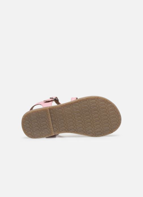 Sandales et nu-pieds I Love Shoes KETCHI Leather Rose vue haut
