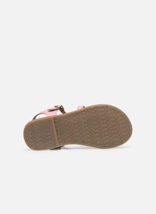 Sandali e scarpe aperte I Love Shoes KETCHI Leather Rosa immagine dall'alto